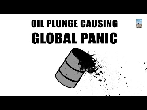 Oil Plunge Causing Massive Panic as Global Economic COLLAPSE Escalates!