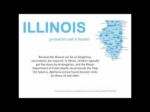 Whooping Cough Vaccine Required for Illinois 6th and 9th Grade Students