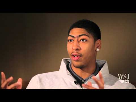 NBA Rookie Anthony Davis on NBA Life, Eyebrows, LeBron, Kobe & Olympics
