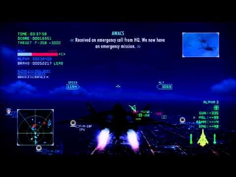 Dubai Night Assault | CFA-44 Nosferatu -SL- | S Rank | Ace Combat Infinity Co-Op