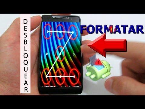 Dica - Como Desbloquear o Motorola Razr D3 Tirar o Padrão (Resetar - Formatar)