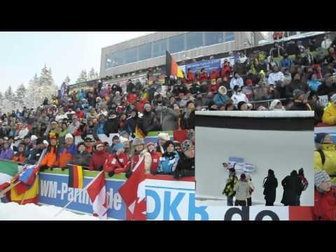 Rodel WM 2012 Altenberg Entscheidung der Herren Felix Loch