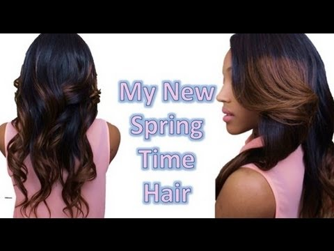 NEW! Spring Time Ombré Hair & Closure (Valencia Rose)