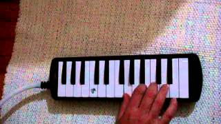 jingle bells melodica notes and video