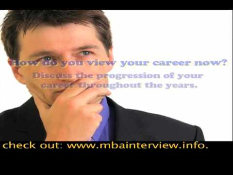 Most Asked Questions in an MBA Interview