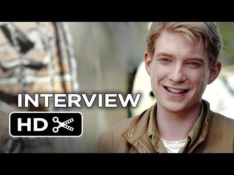 Unbroken Interview - Domhnall Gleeson (2014) - Drama Movie HD