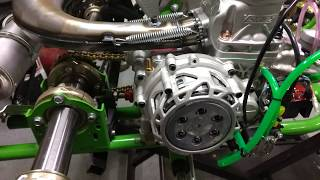 Vortex Rok Shifter 125cc gearbox installed on TB Kart chassis
