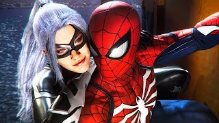 Spider-Man PS4 Black Cat DLC Full 100% Walkthrough Gameplay! (Spiderman PS4 DLC Gameplay)