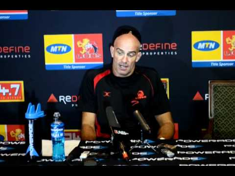 Lions coach John Mitchell looks ahead to the Bulls match