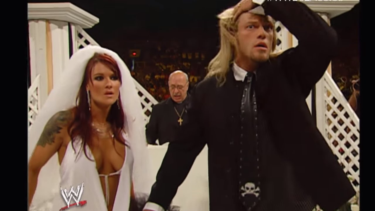 Edge Lita Wedding Edge And Lita Wedding Ceremony