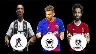 Famous Footballers and their Zodic Signs