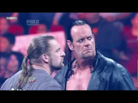 Wwe Wrestlemania 27 The Undertaker Vs. Triple H Promo (hq) video