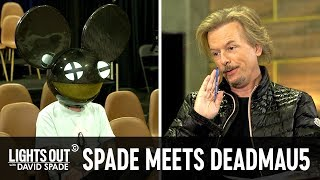 Deadmau5 Tries to Be David Spade's House Band - Lights Out with David Spade