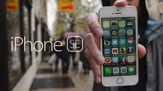 Единственный обзор который необходимо посмотреть про iPhone SE.