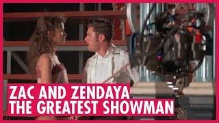 Zendaya, Zac Efron - Amazing BTS on The Greatest Showman