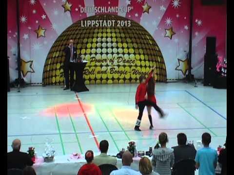 Valerie Lisa Marie Kouchen & Lars Dietrich - Deutschland Cup 2013