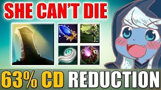 You have 2.5 sec to Kill This Drow [Infinite Reincarnation + 63% CD Reduction] Dota 2 Ability Draft