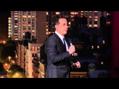 Jerry Seinfeld standup at Letterman February 14th 2013