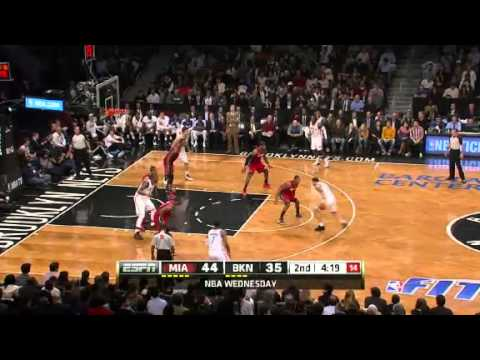 Miami Heat vs Brooklyn Nets - January 30, 2013