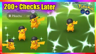 SPECIAL SHINY HAT PIKACHU CAUGHT! PSYCHIC TYPE EVENT in Pokemon Go