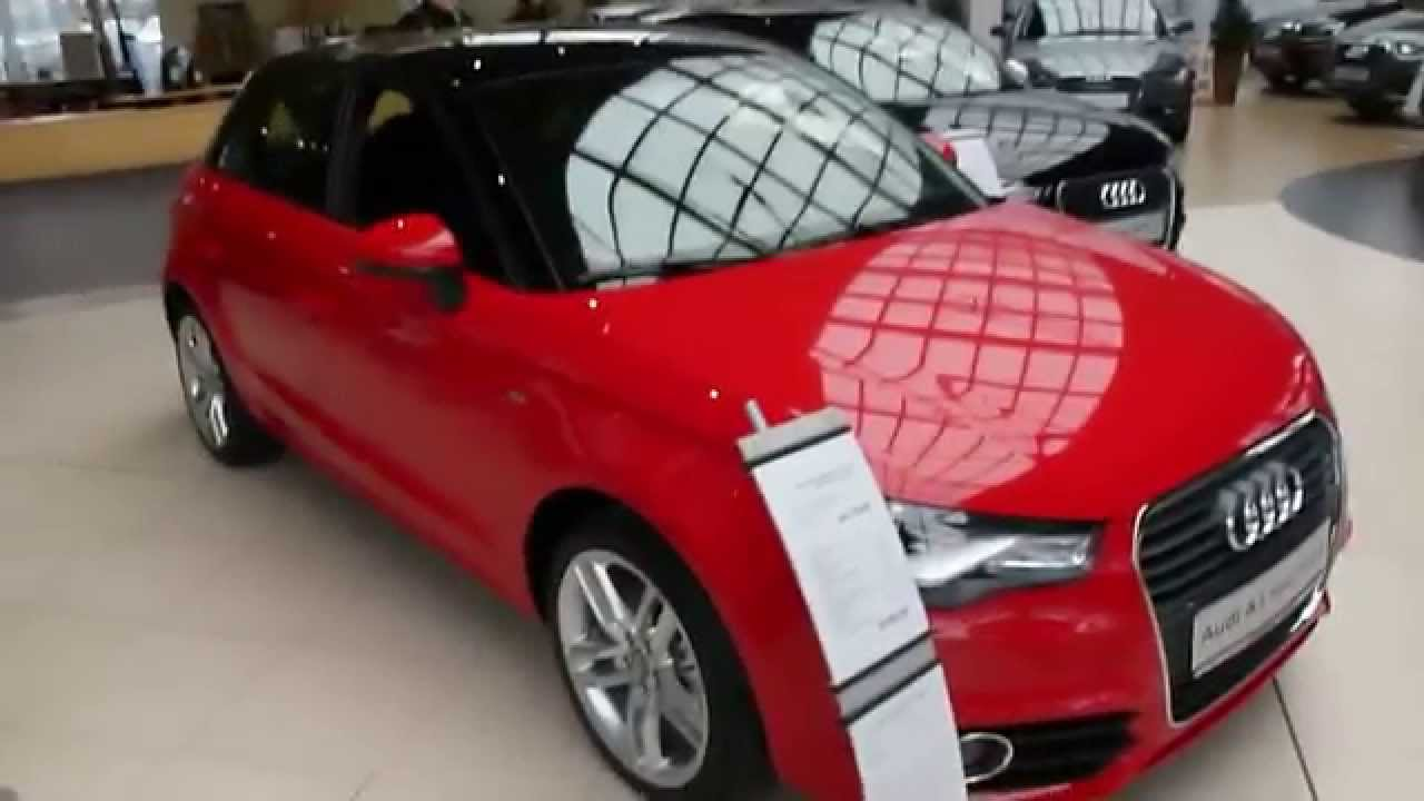 audi a1 sportback 1 4 tfsi s line 5 doors 185 hp 2012 see also playlist youtube. Black Bedroom Furniture Sets. Home Design Ideas