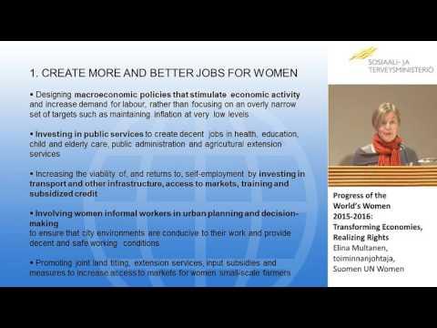 Economies, Realizing Rights, Elina Multanen,