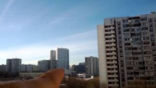 Chemtrails Moscow Russia February-10-2015 14:20