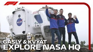 Gasly And Kvyat Explore NASA HQ | 2019 United States Grand Prix