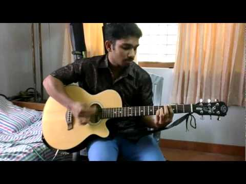 Appangalembadum Guitar Cover By ..joshua K Vijayan video