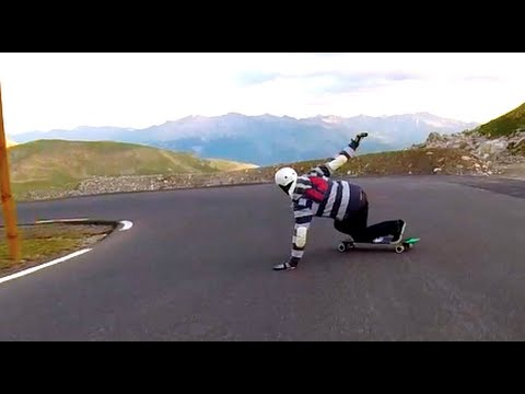 GT Downhill: Longboarding in The Alps 2014
