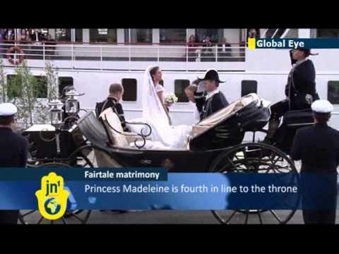 NYC socialite wedding: Sweden's Princess Madeleine marries New York banker Christopher O'Neil