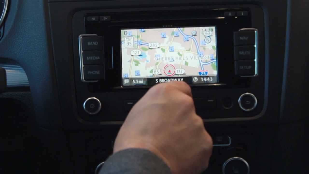 how to set up volkswagen navigation system youtube. Black Bedroom Furniture Sets. Home Design Ideas