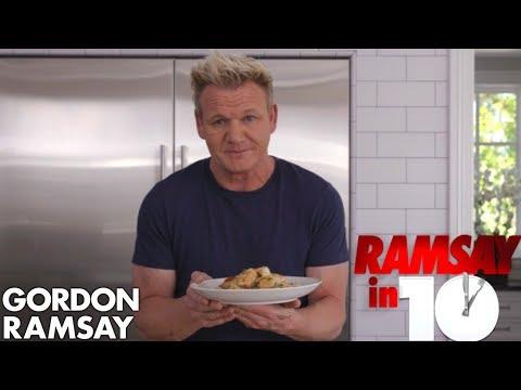 Gordon Ramsay Cooks Shrimp Scampi In Just 10 Minutes | Ramsay in 10