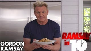 Gordon Ramsay Cooks Shrimp Scampi In Just 10 Minutes | Ramsay in 10