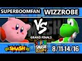 SSC 2016 Smash 64 - SuPeRbOoMfAn (Kirby) Vs. Wizzrobe (Yoshi) - SSB64 Grand Finals
