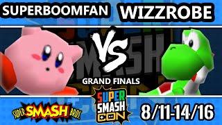 SSC 2016 Smash 64 - SuPeRbOoMfAn (Kirby) Vs. Wizzrobe (Yoshi) - SSB64 Grand Finals