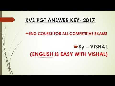 Write my kvs pgt english papers