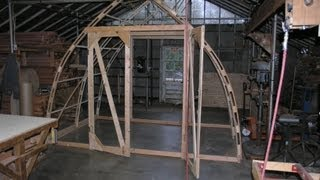 Bow roof shed movie for Bow roof shed