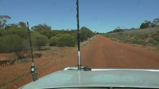 Driving In The Goldfields With The FT857/Terlin Setup