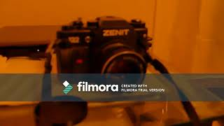 Zenit 122 35mm film camera review