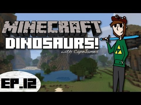 Minecraft Dinosaurs - Fossils and Archeology Mod - Episode 12