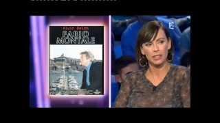 Mathilda May - On n'est pas couché 13 novembre 2010 #ONPC