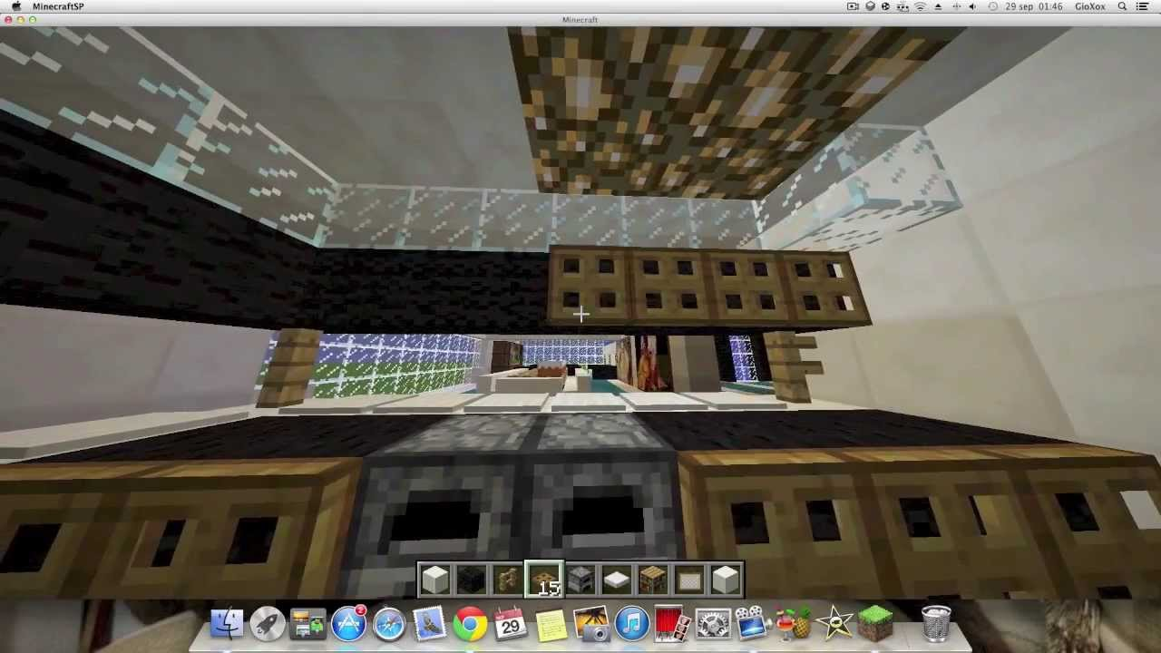 Como decorar tu mansion moderna en minecraft parte 2 youtube for Decora tu mansion