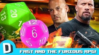 We Try Fast and the Furious Themed Dungeons & Dragons