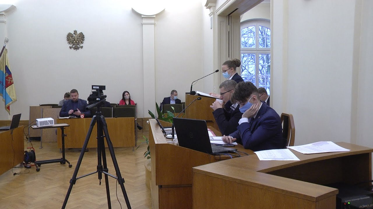 XXXVI sesja Rady Miejskiej, część II