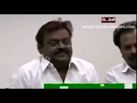 Extreme ROTFL - Better than Lollu Sabha - Captain Vijayakanth's Delhi Press Meet