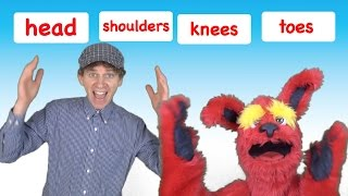 Head Shoulders Knees and Toes | Kids Song with Matt | Preschool, Kindergarten, Learn English