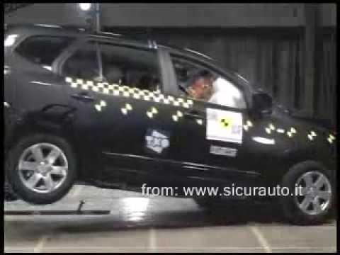 Краш-тест EuroNCAP Kia Carens (2007)