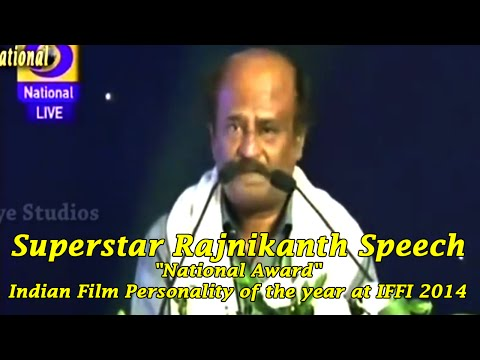 Superstar Rajinikanth Speech |
