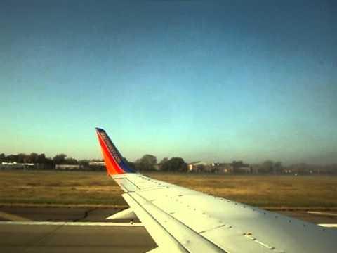 [23 Nov 2011] Southwest Airlines Flt 5 (old) Takeoff DAL - HOU